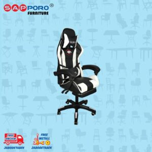 Distributor Jual Gaming Chair Kursi Gaming SAPPORO BELFAST - White (1)