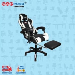Distributor Jual Gaming Chair Kursi Gaming SAPPORO BELFAST - White (2)