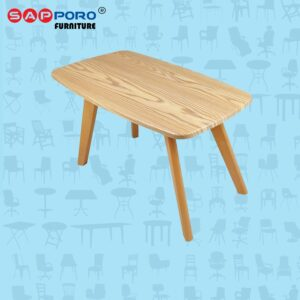 Distributor Jual Meja Tamu Minimalis Meja Kopi Coffe Table SAPPORO MILLON - Wood (1)