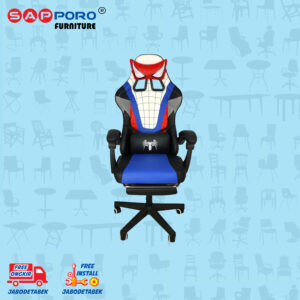 Distributor Jual Gaming Chair Kursi Gaming Karakter SAPPORO KENT - White (1)