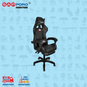 Distributor Jual Gaming Chair Kursi Gaming SAPPORO BELFAST - Black 1