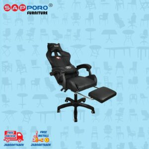 Distributor Jual Gaming Chair Kursi Gaming SAPPORO BELFAST - Black 2