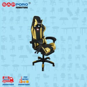 Distributor Jual Gaming Chair Kursi Gaming SAPPORO BELFAST - Gold 1