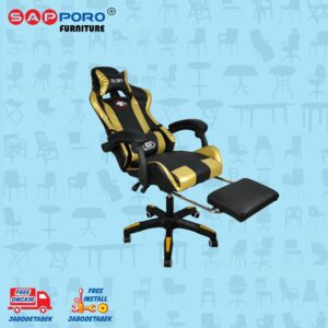 Distributor Jual Gaming Chair Kursi Gaming SAPPORO BELFAST - Gold 2