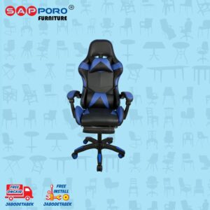 Distributor Jual Gaming Chair Kursi Gaming SAPPORO THANET - Blue (1)