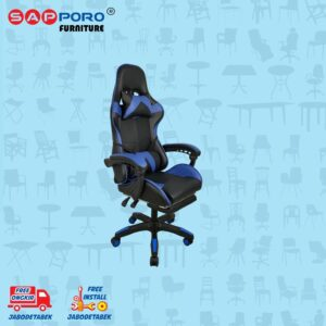 Distributor Jual Gaming Chair Kursi Gaming SAPPORO THANET - Blue (2)