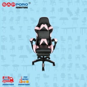 Distributor Jual Gaming Chair Kursi Gaming SAPPORO THANET - Pink (1)