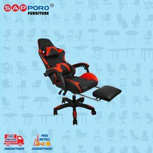 Distributor Jual Gaming Chair Kursi Gaming SAPPORO THANET - Red (3)