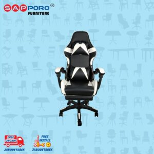 Distributor Jual Gaming Chair Kursi Gaming SAPPORO THANET - White (1)