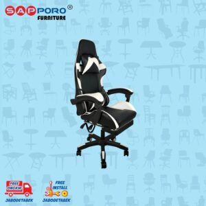Distributor Jual Gaming Chair Kursi Gaming SAPPORO THANET - White (2)