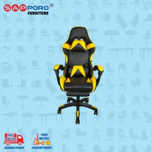 Distributor Jual Gaming Chair Kursi Gaming SAPPORO THANET - Yellow (1)