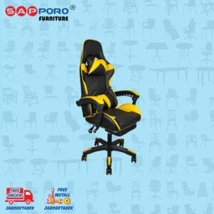 Distributor Jual Gaming Chair Kursi Gaming SAPPORO THANET - Yellow (2)