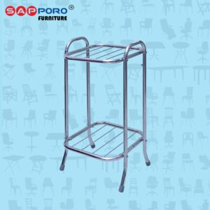 Distributor Jual Rak Dispenser Rak Guci SAPPORO RD 81 - Chrome (1)