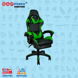 Distributor Jual Gaming Chair Kursi Gaming SAPPORO THANET - Green 1