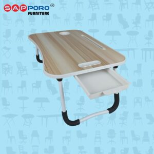 Distributor Jual Meja Laptop Meja Tablet Meja Lipat SAPPORO BURTON - Light Wood 1