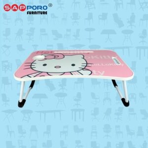 Distributor Jual Meja Laptop Meja Tablet Meja Lipat SAPPORO Carlton - Hello Kitty 1