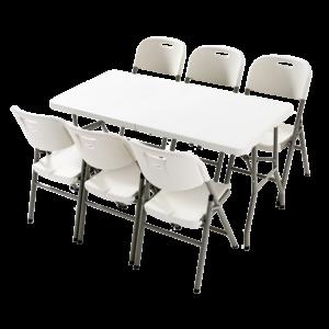 Meja dan Kursi Lipat